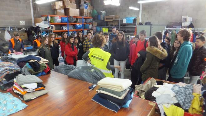 Visita Liceo a Deixalles Palma
